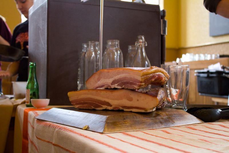 Goose bacon